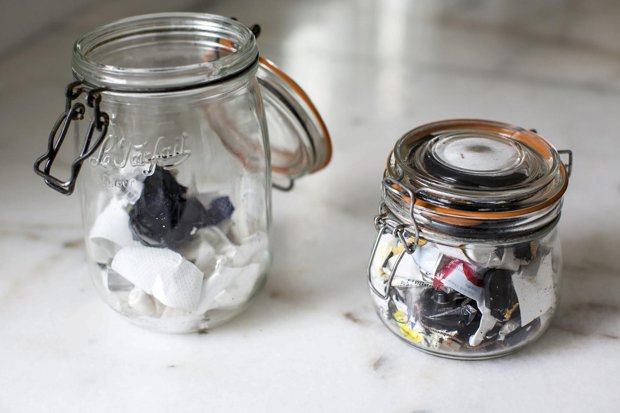The woman with the waste-free household
