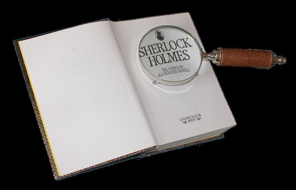 BE LIKE SHERLOCK HOLMES!